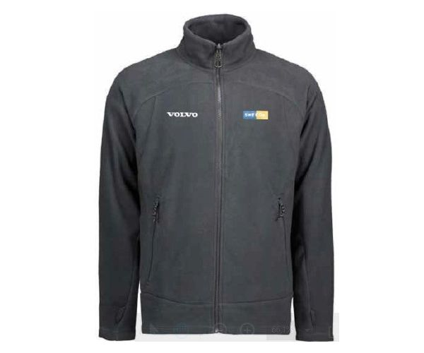 SWECON FLEECEJACKE GRAU 2XL