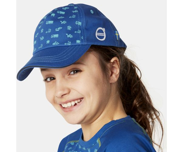 VOLVO IRON MARK KIDS CAP BLAU