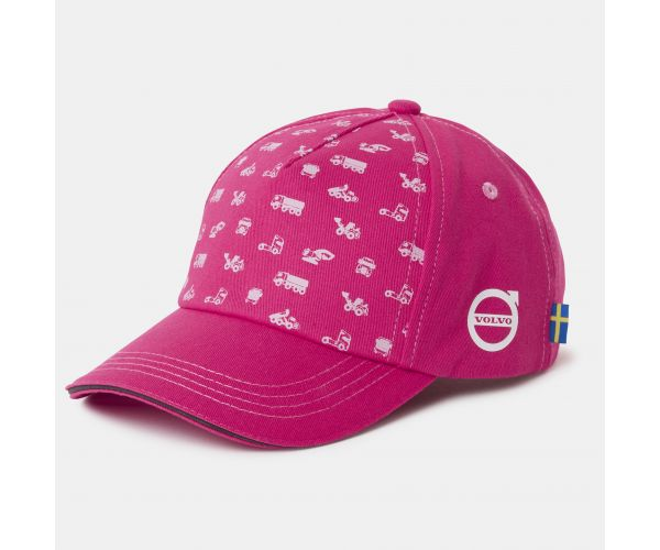 VOLVO IRON MARK KIDS CAP PINK
