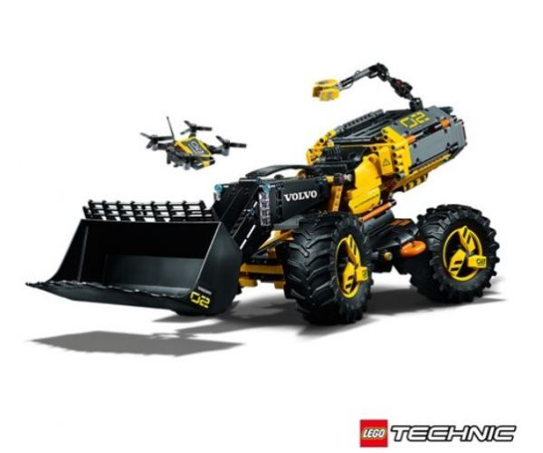 Volvo Zeux by Lego Technic